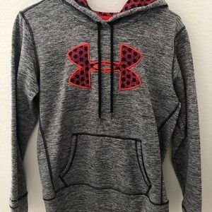 multi color under armour hoodie